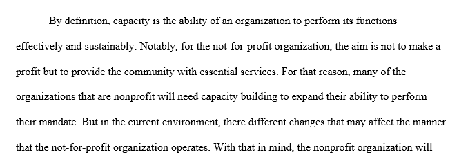 Strategies for not-for-profit and public health organizations