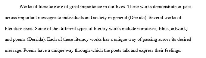 Poem critical analysis