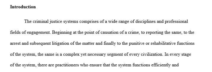 Rsl how to write a criminal justice paper