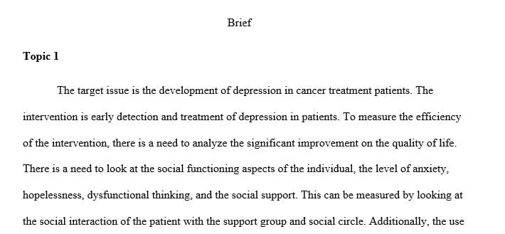 Create a screening tool to be utilized for assessing patients for depression.